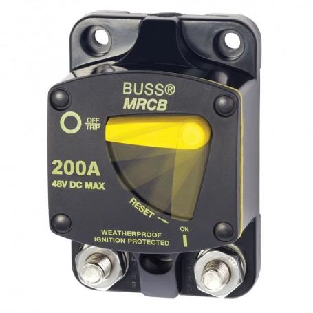 Blue Sea 7149 200 Amp Circuit Breaker - Surface Mount