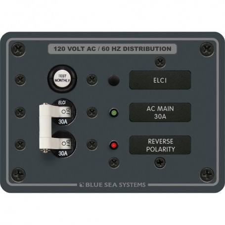 Blue Sea 8100 ELCI GFCI Panel