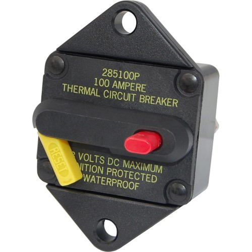 Blue Sea 7083 50 Amp Circuit Breaker Panel Mount 285 Series