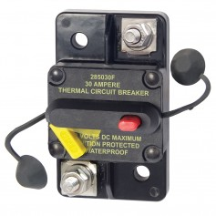 Blue Sea 7181 30 Amp Circuit Breaker Surface Mount 285 Series