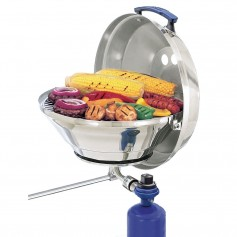Magma Marine Kettle Gas Grill Original 15- w-Hinged Lid