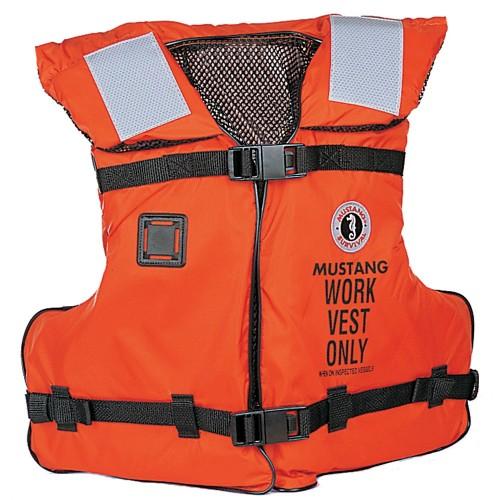 Mustang Work Vest w-Solas Tape