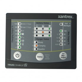 Xantrex TRUECHARGE2 Remote Panel f-20 - 40 - 60 AMP -Only for 2nd generation of TC2 chargers-