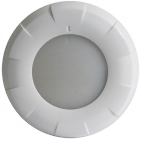 Lumitec Aurora LED Dome Light - White Finish - White-Red Dimming