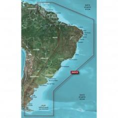 Garmin BlueChart g2 HD - HXSA001R - South America East Coast - microSD-SD