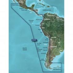 Garmin BlueChart g2 HD - HXSA002R - South America West Coast - microSD-SD