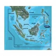 Garmin BlueChart g2 HD - HXAE009R - Singapore - Malaysia - Indonesia - microSD - SD