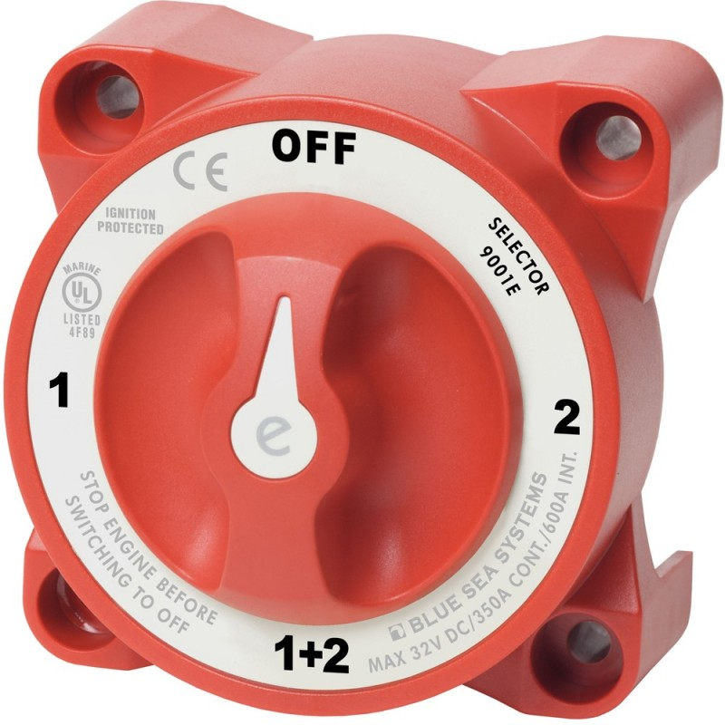 Blue Sea 9001e e-Series Battery Switch Selector