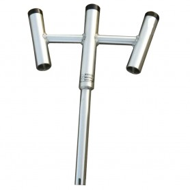 Wahoo Triple Rod Holder - 30 Bent Butt