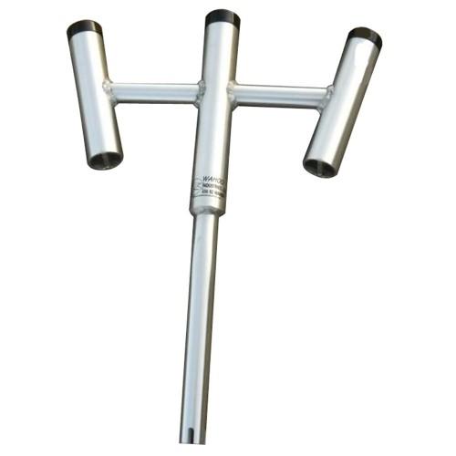 Wahoo Triple Rod Holder - 30 Bent Butt