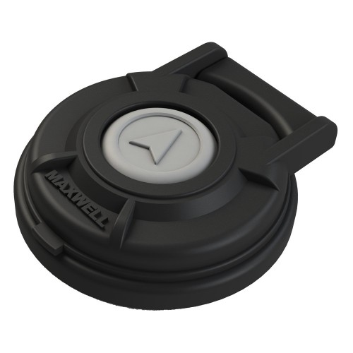 Maxwell Up-Down Footswitch - Compact- Black