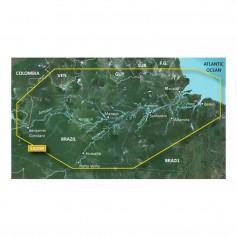 Garmin BlueChart g2 HD - HXSA009R - Amazon River - microSD-SD