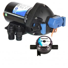 Jabsco Par-Max Shower Drain-General Purpose Pump - 3-5GPM-25psi-12VDC - w-Strainer