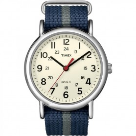 Timex Weekender Slip-Thru Watch - Navy-Grey