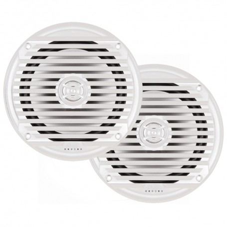 JENSEN MS6007WR 6-5- Coaxial Marine Speaker - -Pair- White