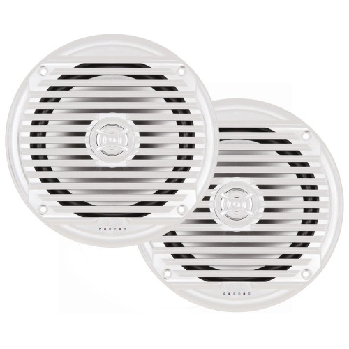 JENSEN MS6007WR 6-5- Coaxial Marine Speaker - -Pair- White