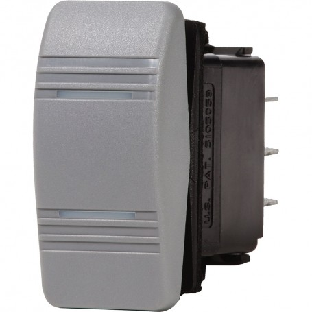 Blue Sea 8232 Water Resistant Contura III Switch - Grey