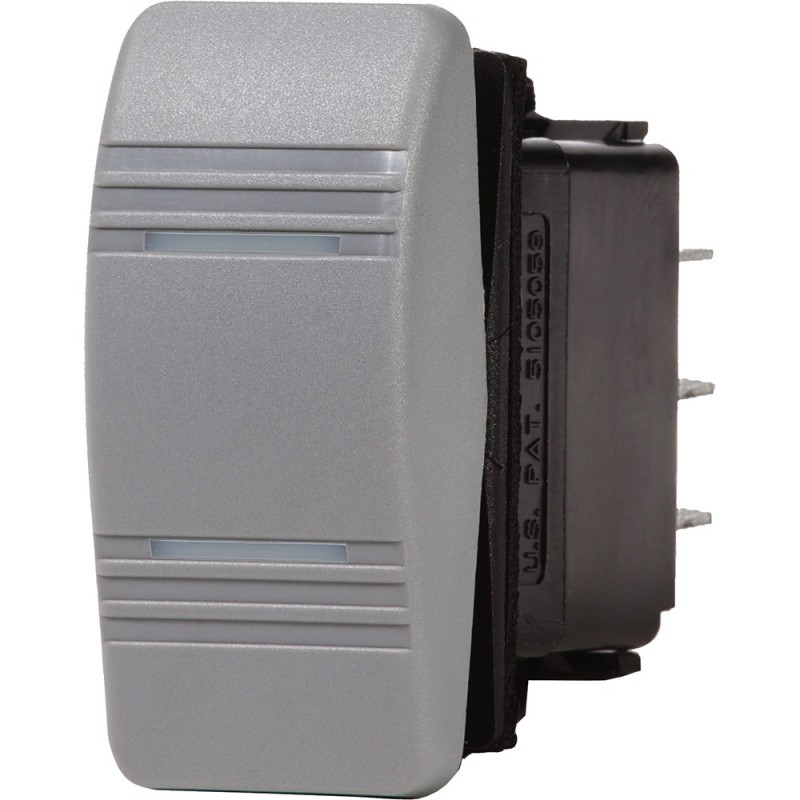 Blue Sea 8232 Water Resistant Contura III Switch - Gray