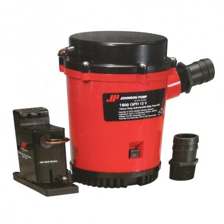 Johnson Pump 1600GPH Auto Bilge Pump w-Mag Switch - 12V