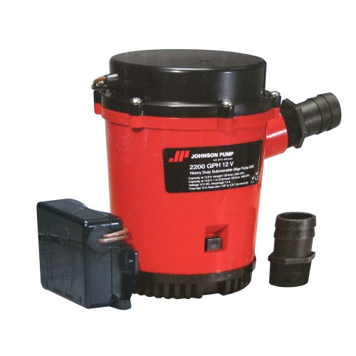 Johnson Pump 2200GPH Ultima Combo Auto Bilge Pump - 12V
