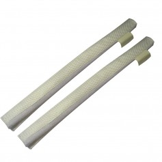 Davis Secure Removable Chafe Guards - White -Pair-
