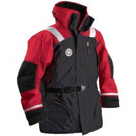 First Watch AC-1100 Flotation Coat - Red-Black - Large
