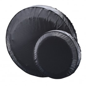 C-E- Smith 15- Spare Tire Cover - Black