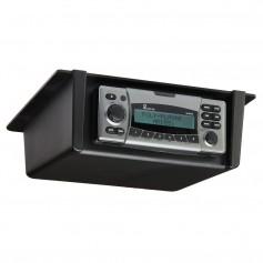 Poly-Planar Radio Mount Underdash-Overhead - Black