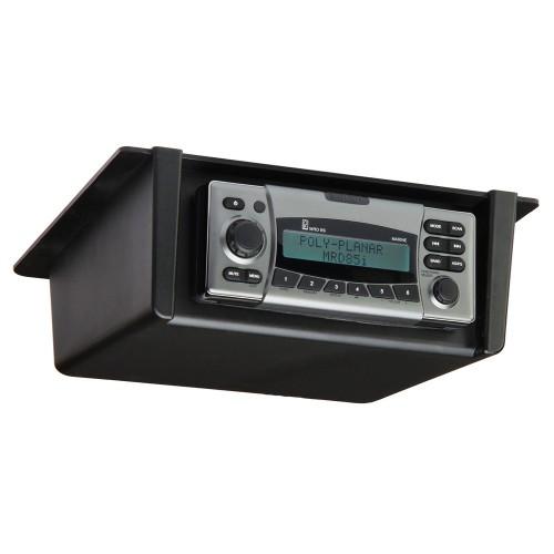 PolyPlanar Radio Mount Underdash-Overhead - Black