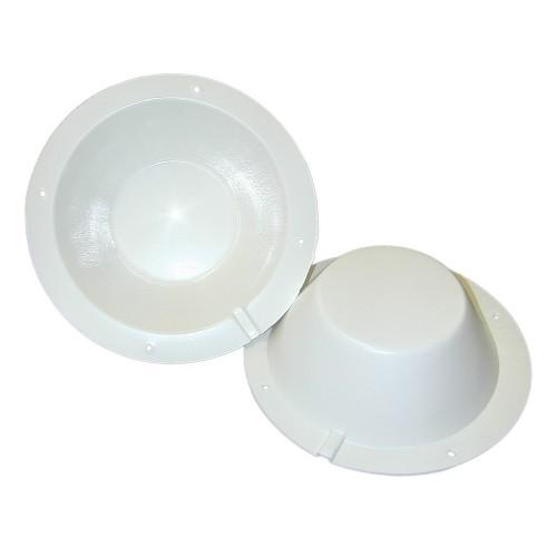 PolyPlanar 8-1-2 Speaker Back Cover - White