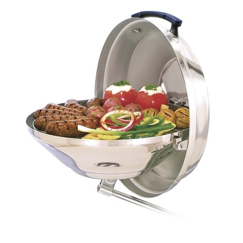 Magma Marine Kettle Charcoal Grill w-Hinged Lid