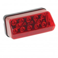 Wesbar Right-Curbside LED Wrap Around Tail Light