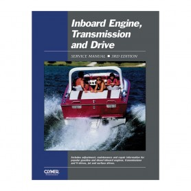 Clymer Inboard Engine- Transmission - Drive Service Manual 3rd Ed-