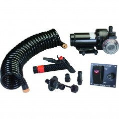 Johnson Pump 5-2 GPM Aqua Jet Washdown Pump Kit w-Hose - 24V