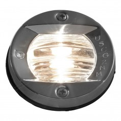 Attwood Vertical- Flush Mount Transom Light - Round