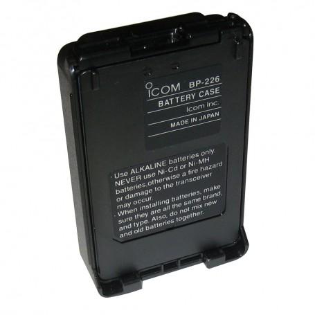 Icom Alkaline Battery Case f-M88