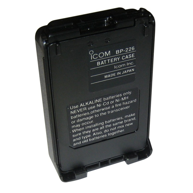 Icom Alkaline Battery Case f-M88