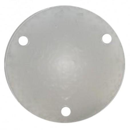 Wahoo 109 Backing Plate w-Gasket - Anodized Aluminum