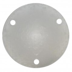 Wahoo 109 Backing Plate w-Gasket - Anodized Aluminum