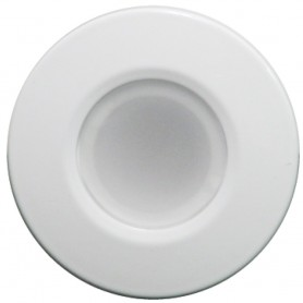 Lumitec Orbit - Flush Mount Down Light - White Finish - 4-Color Blue-Red-Purple-White Non Dimming