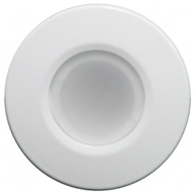 Lumitec Orbit - Flush Mount Down Light - White Finish - 2-Color Blue-White Dimming