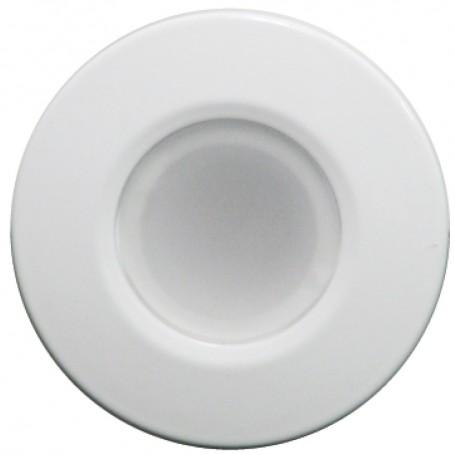 Lumitec Orbit - Flush Mount Down Light - White Finish - 2-Color Blue-White Dimming