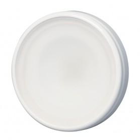 Lumitec Halo - Flush Mount Down Light - White Finish - 3-Color Red-Blue Non-Dimming w-White Dimming