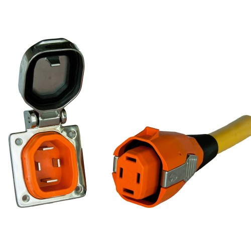 SmartPlug 50 Amp Boat RV Side Inlet Connector