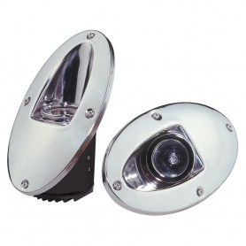 Innovative Lighting Docking- Hull- Back-Up Lights - Chrome
