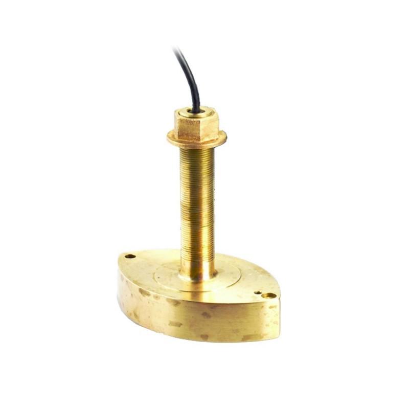 Humminbird XTH-9-20 Bronze Thru-Hull Transducer - 83-200 kHz