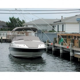 Monarch Nor-Easter 2 Piece Mooring Whips f-Boats up to 23-