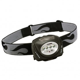 Princeton Tec QUAD LED Headlamp - Black