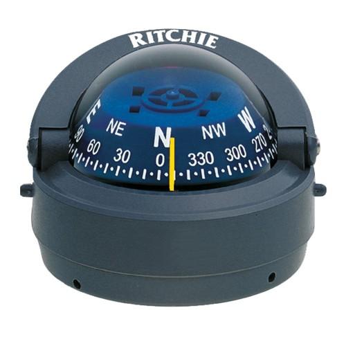 Ritchie S-53G Explorer Compass - Surface Mount - Gray