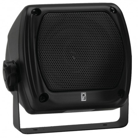 Poly-Planar Subcompact Box Speaker - -Pair- Black